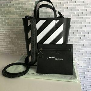 NWT Off-White Diagonal Tote Bag